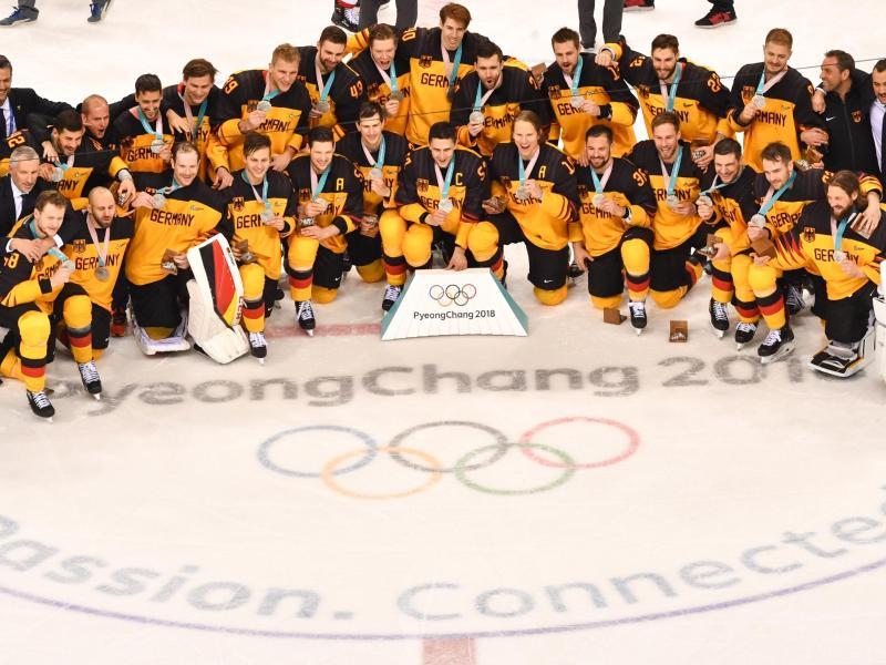 Die deutscheEishockey-Nationalmannschaft ist einer der großen Gewinner des Olympia-Winters