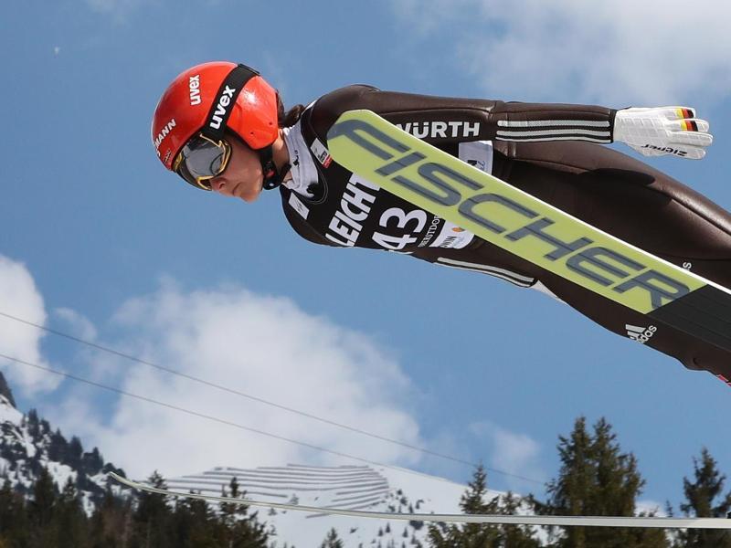 Kämpft um mehr Aufmerksamkeit für ihre Sportart: Skisprung-Weltmeisterin Carina Vogt