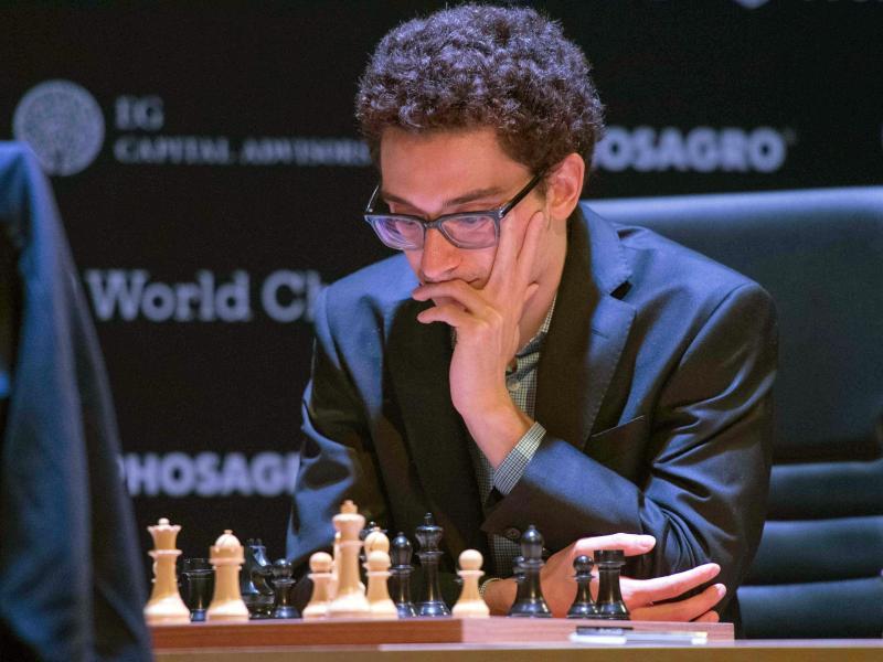 Fabiano Caruana trotzte Magnus Carlsen in Karlsruhe ein Remis ab