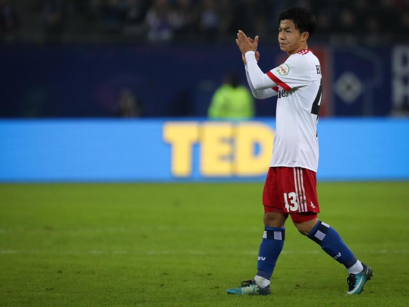 Tatsuya Ito ist beim HSV ins Mannschaftstraining zurückgekehrt