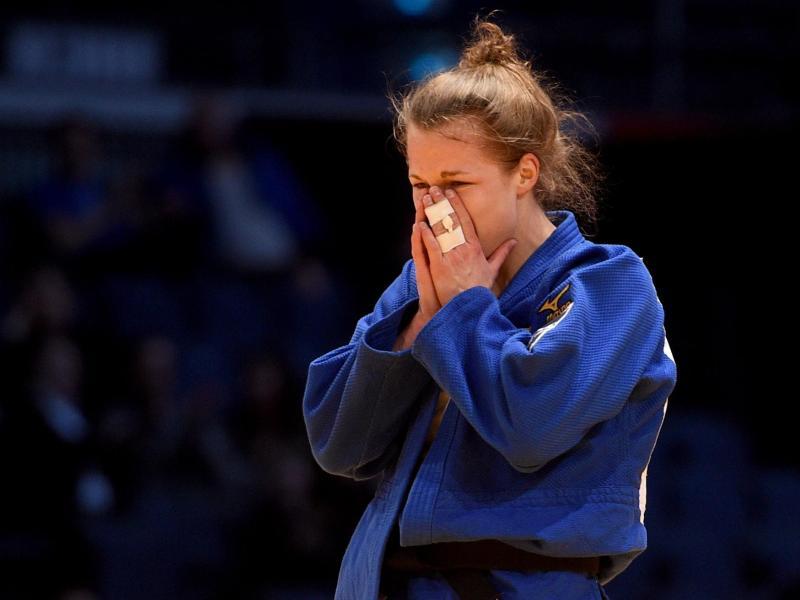 Brachte eine Silbermedaille von der Judo-EM in Tel Aviv mit nach Hause: Theresa Stoll