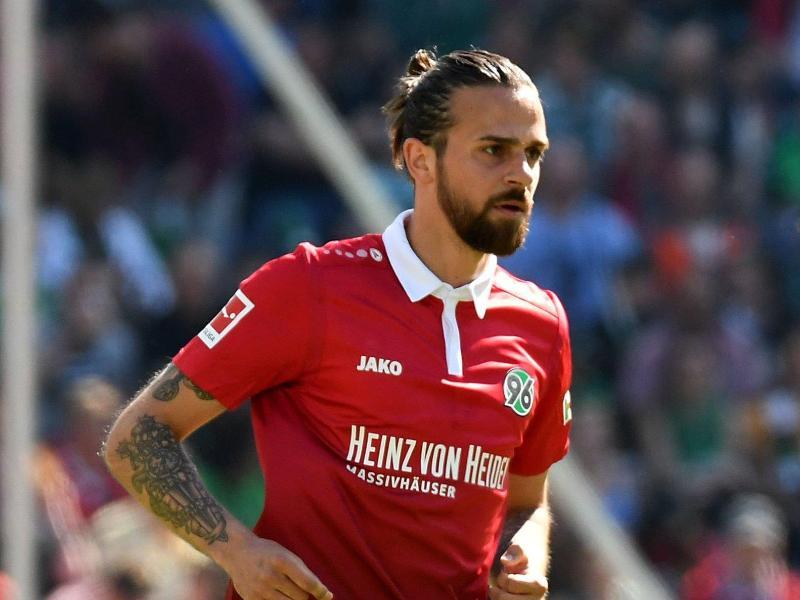 Wechselt von Hannover 96 zu Werder Bremen: Martin Harnik. Foto: Peter Steffen