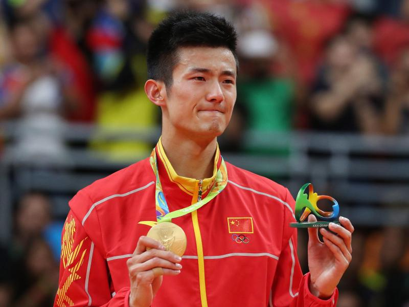 Badminton-Olympiasieger Chen Long