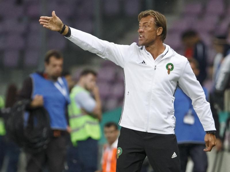 Hervé Renard trainiert die marokkanische Nationalmannschaft