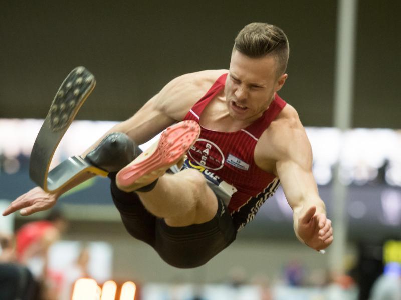 Neu werden großartiges Aussehen Freiraum suchen Paralympicssieger Markus Rehm springt Weltrekord