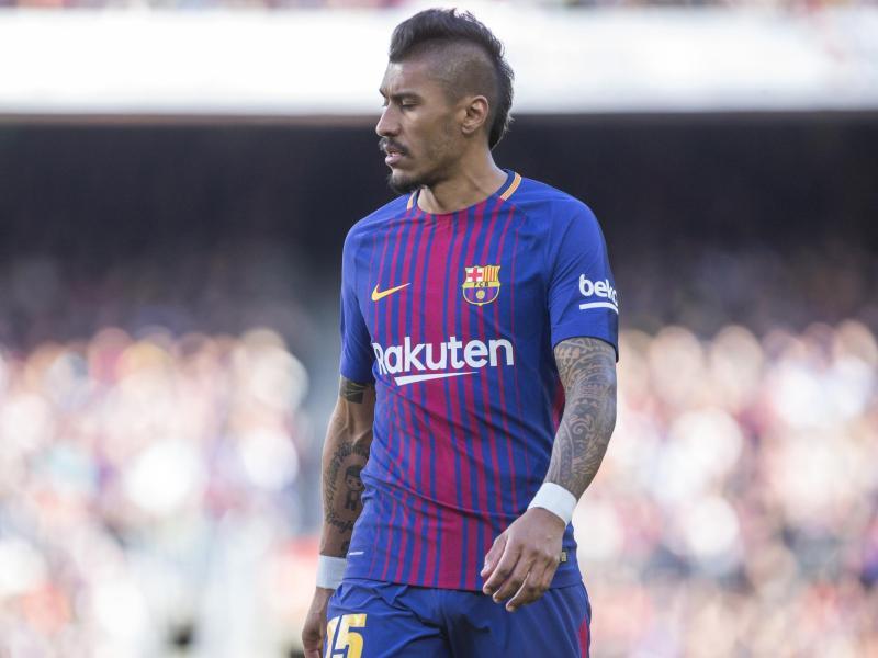 Wechselt vom FC Barcelona nach China: Der Brasilianer Paulinho