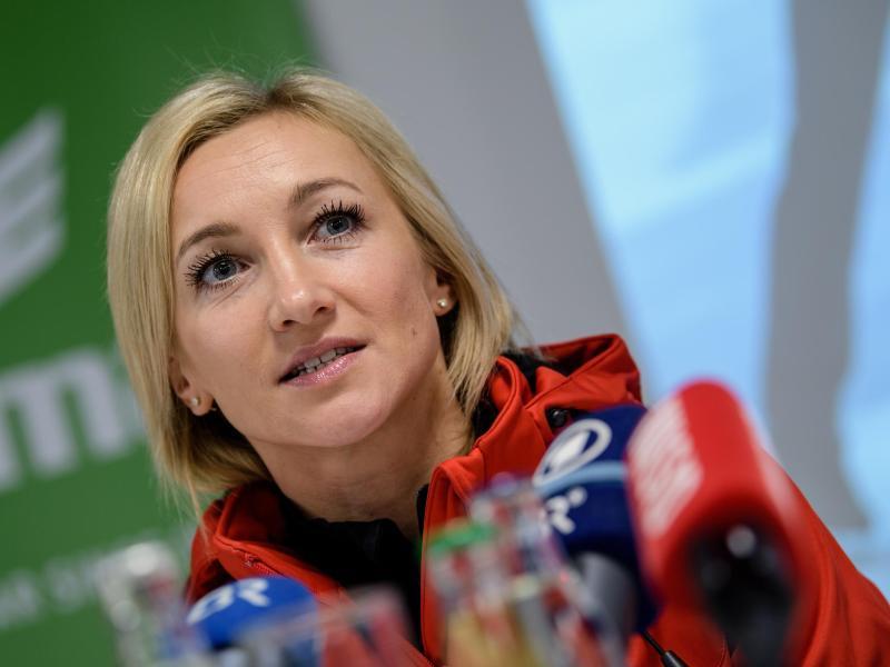 Hat Olympia 2022 in Peking im Blick: Paarlauf-Olympiasiegerin Aljona Savchenko