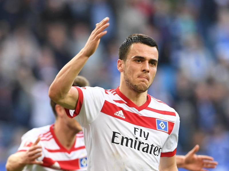 HSV-Spieler Filip Kostic geht für zwei Jahre zu Eintracht Frankfurt: