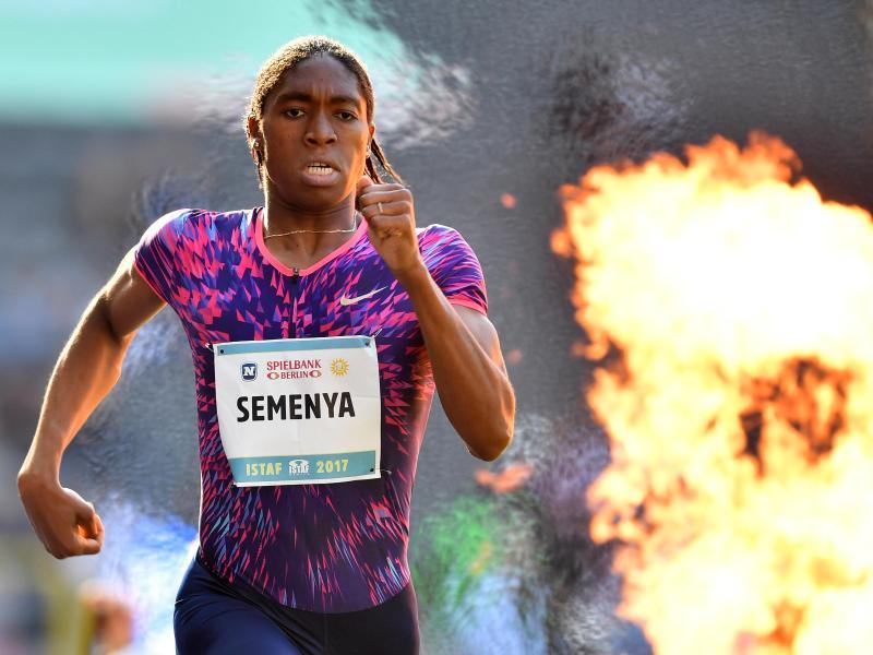 Caster Semenya wird auch dieses Jahr beim Berliner ISTAF laufen