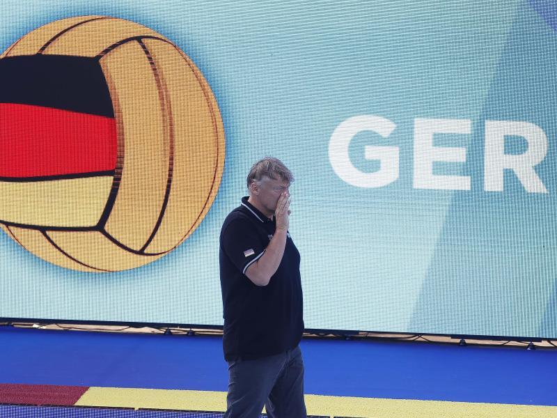 Trainer Hagen Stamm hat mit dem Team der DSV-Wasserballer den Weltcup auf Rang vier beendet