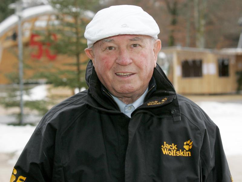 Tournee-Ehrenpräsident Hans Ostler ist im Alter von 93 Jahren gestorben