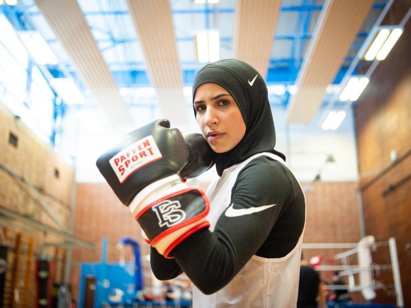 Zeina Nassar peilt eine große Boxkarriere an