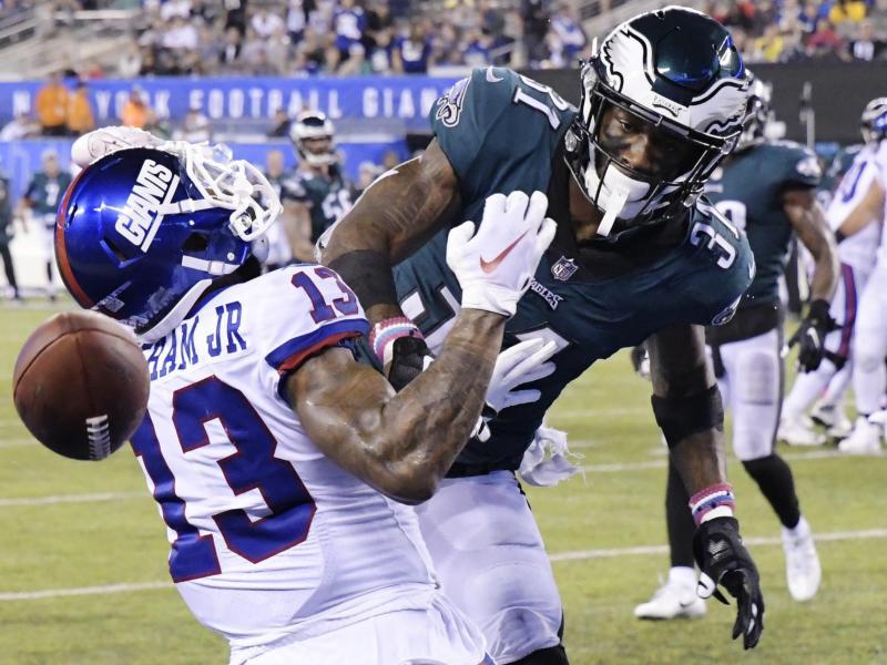 Die Philadelphia Eagles besiegten New York Giants 34:13