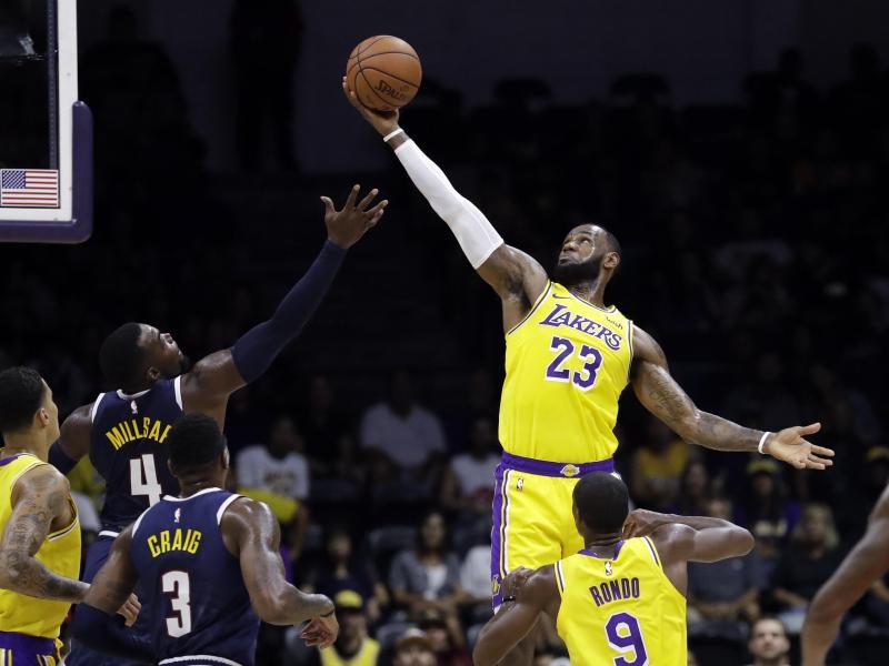 LeBron James spielt seit diesem Sommer für die Lakers