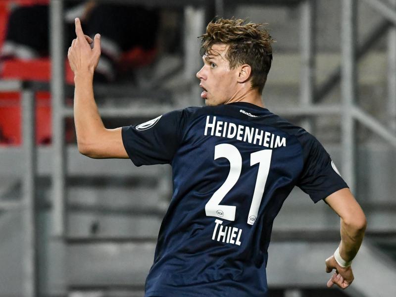 Heidenheims Maximilian Thiel fällt verletzungsbedingt vorerst aus