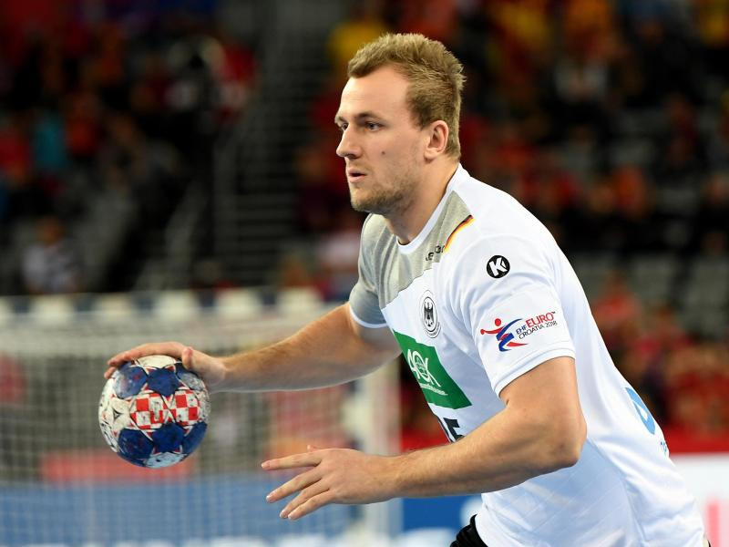Deutschlands Handball-Nationalspieler Julius Kühn
