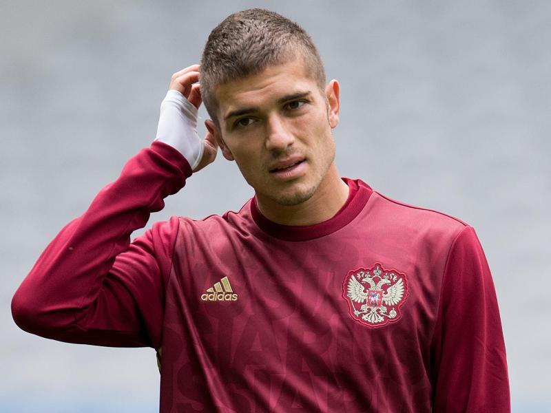 Im Team der russischen Nationalmannschaft:Roman Neustädter