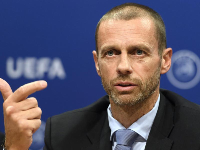 Seit 2016 UEFA-Präsident: Aleksander Ceferin