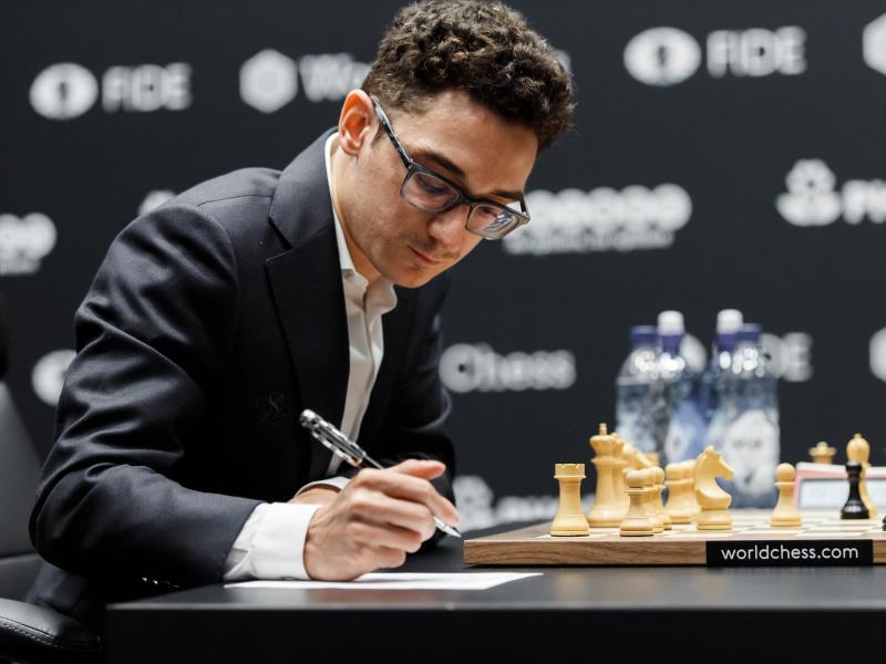 Viertes Remis zwischen Carlsen und Caruana bei Schach-WM