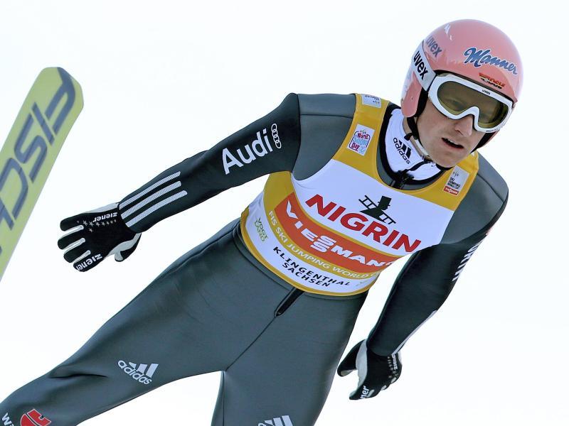 Auch Olympiasieger Severin Freund ist in Engelberg wieder am Start