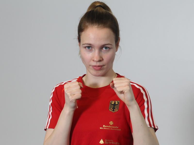 Boxerin Ornella Wahner hat bei der WM in Neu Delhi eine Bronzemedaille sicher.