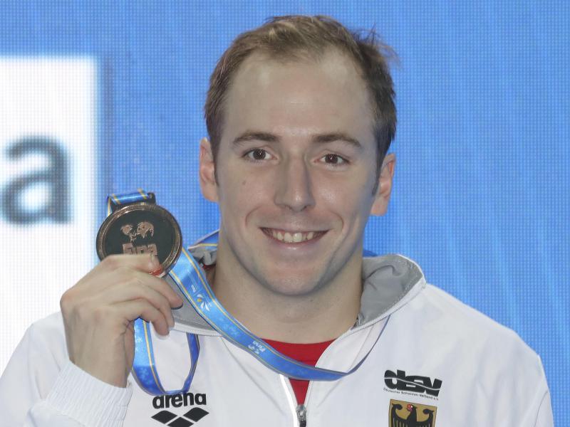 Bringt eine Bronzemedaille mit aus Hangzhou: Marco Koch