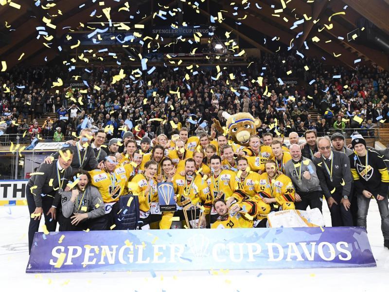 KalPa Kuopio gewann erstmals den Spengler Cup