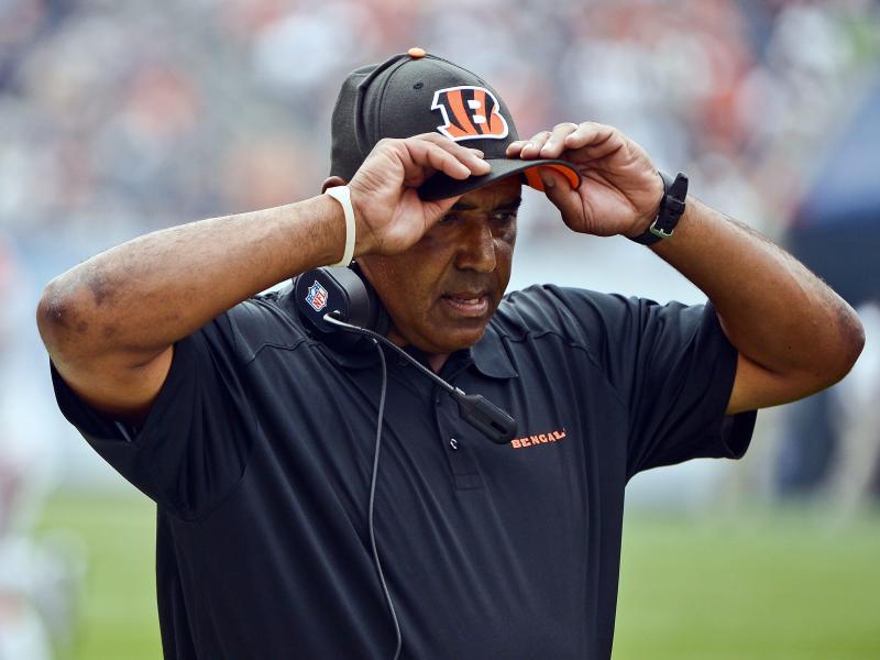 Musste bei den Cincinnati Bengals gehen: Coach Marvin Lewis