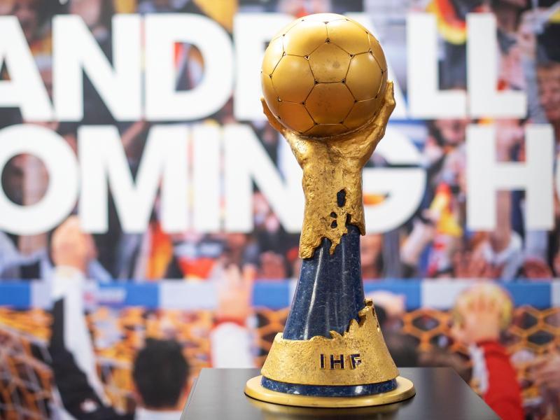 Objekt der Begierde: Der Handball-WM-Pokal