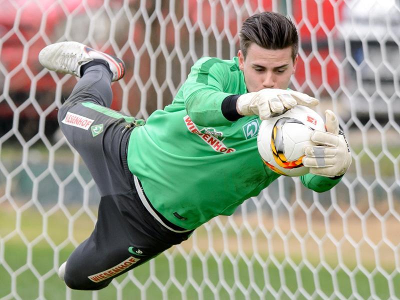 Michael Zetterer ist aktuell Nummer drei bei Werder Bremen
