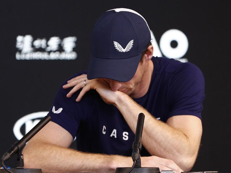 Andy Murray beendet seine Karriere spätestens nach Wimbledon