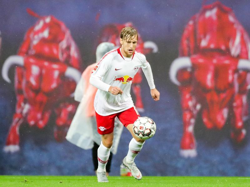 Leipzigs Emil Forsberg steigt nach seiner Verletzung in den kommenden Tagen wieder in das Mannschaftstraining ein