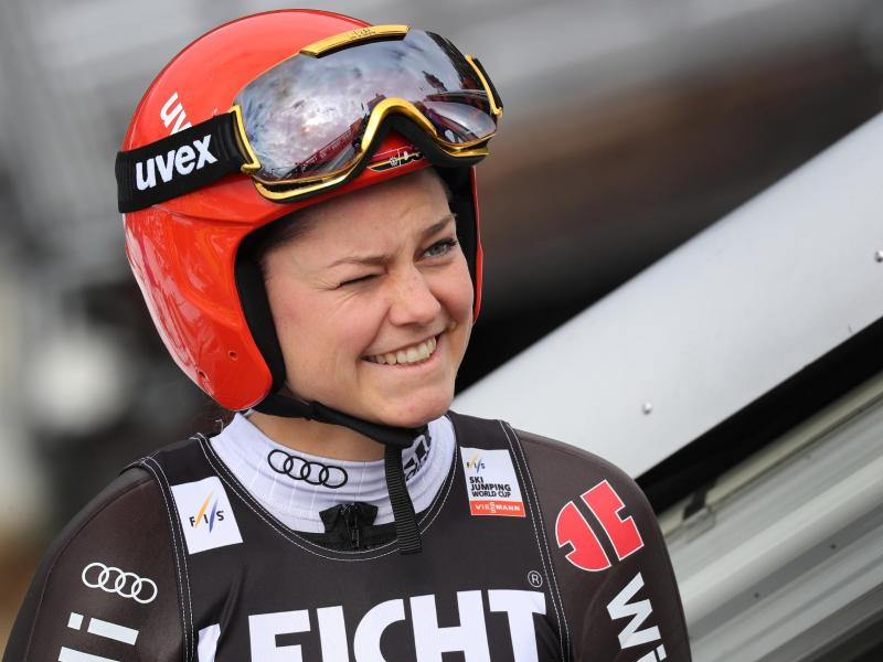 Wurde in Zao Dritte: Skispringerin Carina Vogt