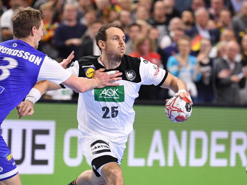 Kai Häfner (r) hatte sich bis zur seiner Berufung in den WM-Kader fit gehalten.