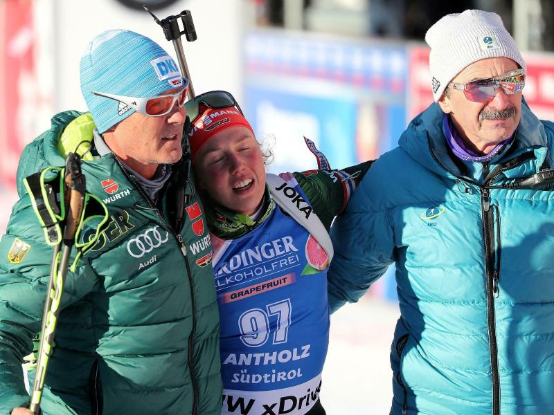 Biathlon Nach Kraftakt Laura Dahlmeier Legt Fokus Auf Verfolgung