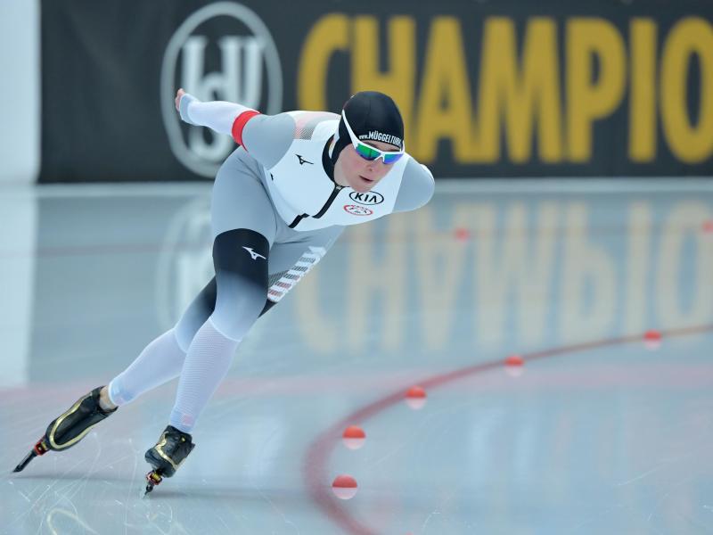 Eisschnelllauf Pechstein Auf Wm Rang Sieben über 5000 Meter