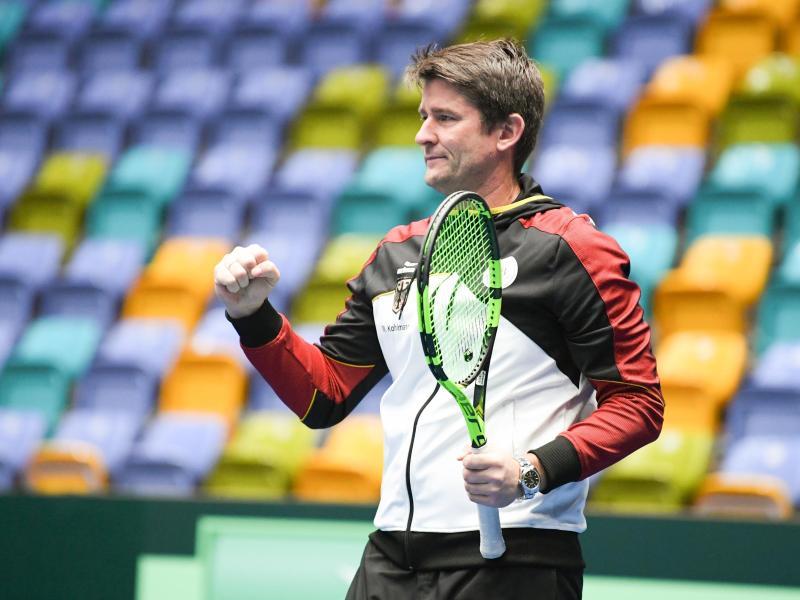 Trifft mit seinem Team auf Argentinien und Chile: Davis-Cup-Teamchef Michael Kohlmann
