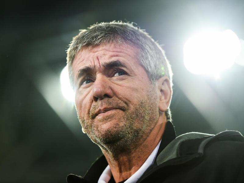 Schaut dem Rhein-Derby gegen Leverkusen zuversichtlich entgegen: Fortuna-Coach Friedhelm Funkel