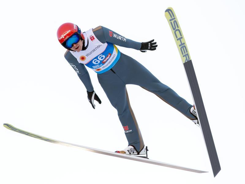 Überzeugte beim zweiten Training in Innsbruck: VinzenzGeiger