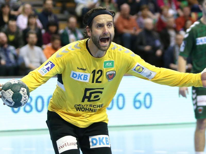 Silvio Heinevetter kann nicht gegen die Schweiz spielen