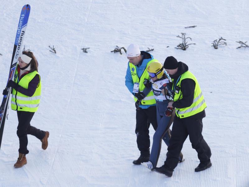 Sturz mit Folgen: Für Ramona Straub ist die Wintersportsaison beendet