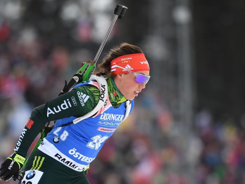 Will beide noch verbleibende Rennen bei der Biathlon-WM bestreiten: Laura Dahlmeier