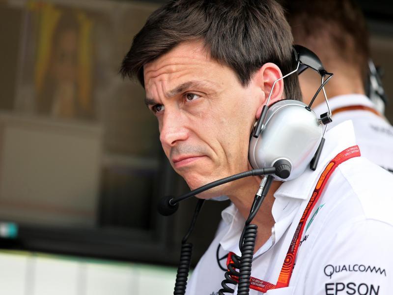 Mercedes-Teamchef Toto Wolff sieht einen Vorteil bei Ferrari