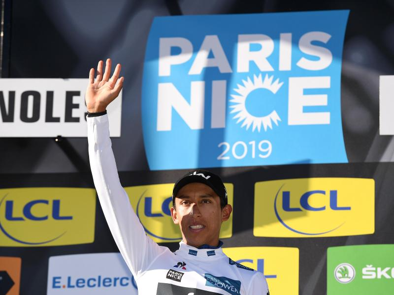 Kolumbianer Egan Bernal vom Team Sky gewinnt Paris-Nizza