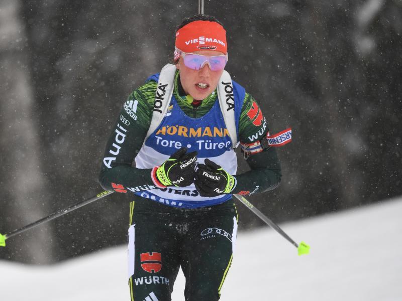 Laura Dahlmeier hat in diesem Jahr einen Massenstart gewonnen