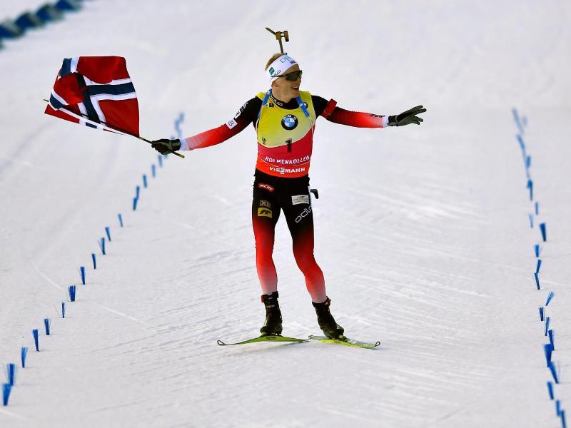 Dominierte den Biathlon-Weltcup: Der Norweger Johannes Thingnes Bö