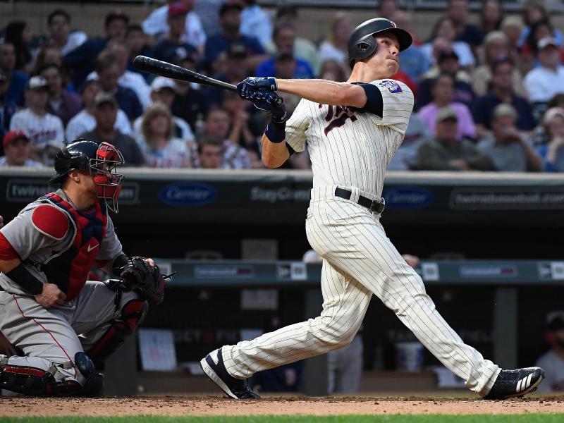 Wurde in den USA zum Baseball-Millionär: Max Kepler (r.)