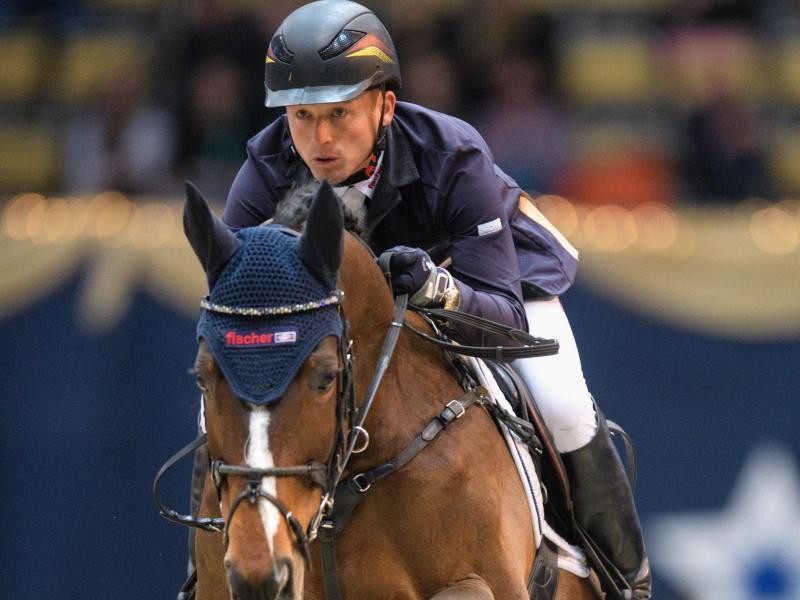 Reitet in Rieden ein neues Pferd: Michael Jung