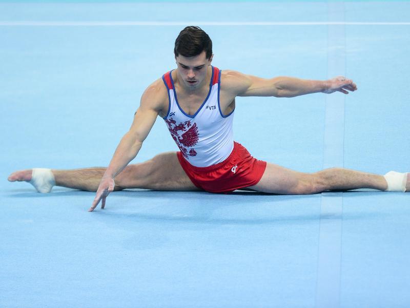 Artur Dalaloyan sicherte sich die Goldmedaille am Boden
