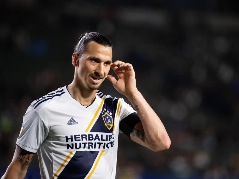 Zlatan Ibrahimovic spielt für LA Galaxy in der MLS